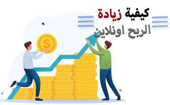 زيادة الربح من الانترنت